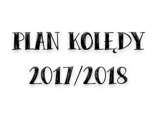 Plan kolędy 2017/2018