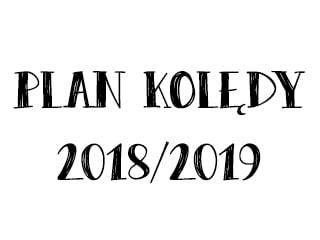 Plan kolędy 2018/2019