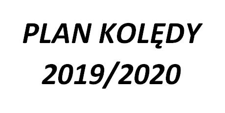 Plan Kolędy 2019/2020 – AKTUALIZACJA z dn. 30.12.2019